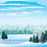 διανυσματικός χειμώνας τ& Απεικόνιση αποθεμάτων