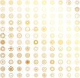 Διανυσματικός χρυσός νέος απεικόνιση αποθεμάτων