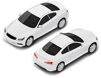 Διανυσματικός isometric υψηλός - ποιοτικό σπορ αυτοκίνητο Εικονίδιο μεταφορών Στοκ φωτογραφία με δικαίωμα ελεύθερης χρήσης