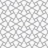 Διανυσματικό άνευ ραφής αραβικό σχέδιο Στοκ φωτογραφία με δικαίωμα ελεύθερης χρήσης