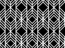 Διανυσματικό άνευ ραφής γεωμετρικό πρότυπο Στοκ Φωτογραφίες