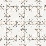 Διανυσματικό άνευ ραφής γεωμετρικό σχέδιο των σημείων Στοκ εικόνες με δικαίωμα ελεύθερης χρήσης