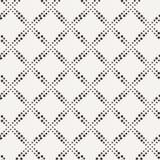 Διανυσματικό άνευ ραφής γεωμετρικό σχέδιο των σημείων Στοκ Εικόνα