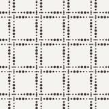 Διανυσματικό άνευ ραφής γεωμετρικό σχέδιο των σημείων Στοκ φωτογραφία με δικαίωμα ελεύθερης χρήσης