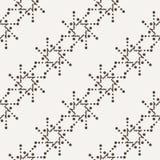Διανυσματικό άνευ ραφής γεωμετρικό σχέδιο των σημείων Στοκ φωτογραφίες με δικαίωμα ελεύθερης χρήσης