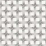 Διανυσματικό άνευ ραφής γεωμετρικό σχέδιο των σημείων Στοκ Εικόνες