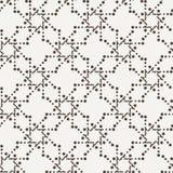 Διανυσματικό άνευ ραφής γεωμετρικό σχέδιο των σημείων Στοκ Φωτογραφία