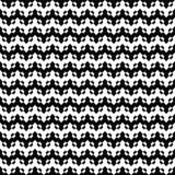 Διανυσματικό άνευ ραφής πρότυπο τρεκλίσματος Αφηρημένη σύσταση σιριτιών Γραπτό υπόβαθρο Μονοχρωματικό σχέδιο ελεύθερη απεικόνιση δικαιώματος