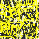 Διανυσματικό άνευ ραφής σχέδιο γκράφιτι με το αφηρημένο ζωηρόχρωμο φωτεινό τ Στοκ φωτογραφία με δικαίωμα ελεύθερης χρήσης