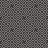 Διανυσματικό άνευ ραφής σχέδιο δικτυωτού πλέγματος Σύγχρονη μοντέρνη σύσταση με μονοχρωματικό trellis Επανάληψη του γεωμετρικού π Στοκ εικόνες με δικαίωμα ελεύθερης χρήσης