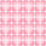 Διανυσματικό άνευ ραφής σχέδιο ημέρας βαλεντίνων ` s Πετώντας καρδιές και πνεύμα της διακόσμησης αγάπης απεικόνιση αποθεμάτων