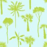 Διανυσματικό άνευ ραφής σχέδιο με τα αποβαλλόμενα δέντρα Στοκ εικόνα με δικαίωμα ελεύθερης χρήσης
