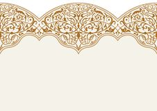 Διανυσματικό άνευ ραφής σχέδιο με τη διακόσμηση τέχνης για το σχέδιο απεικόνιση αποθεμάτων