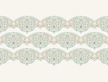 Διανυσματικό άνευ ραφής σχέδιο με τη διακόσμηση τέχνης για το σχέδιο διανυσματική απεικόνιση