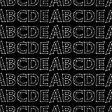 διανυσματικό άνευ ραφής σχέδιο - που γράφει Στοκ φωτογραφίες με δικαίωμα ελεύθερης χρήσης