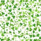 Διανυσματικό άνευ ραφής σχέδιο για τον εορτασμό ημέρας του ST Patricks απεικόνιση αποθεμάτων