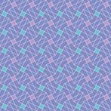 Διανυσματικό άνευ ραφής σχέδιο γρίφων Χρωματισμένος επαναλαμβάνοντας το γεωμετρικό κεραμίδι Στοκ Εικόνες