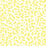 Διανυσματικό άνευ ραφής σχέδιο με τα γεωμετρικά στοιχεία στο ύφος Στοκ εικόνα με δικαίωμα ελεύθερης χρήσης