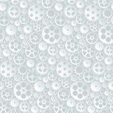 Διανυσματικό άνευ ραφής σχέδιο με τα εργαλεία και cogwheels Στοκ Εικόνες