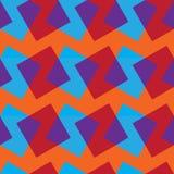 Διανυσματικό άνευ ραφής σχέδιο με τα ορθογώνια χρώματος Στοκ εικόνες με δικαίωμα ελεύθερης χρήσης