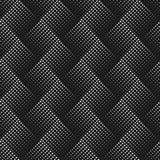 Διανυσματικό άνευ ραφής σχέδιο με τα σημεία αφηρημένη ανασκόπηση διακ&omicr Ατελείωτη μοντέρνη σύσταση Οπτική παραίσθηση τρισδιάσ Στοκ Φωτογραφίες