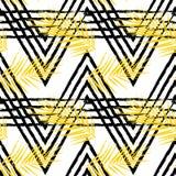 Διανυσματικό άνευ ραφής σχέδιο με τα τροπικά φύλλα Στοκ Εικόνες