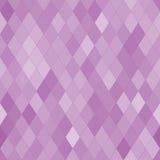 Διανυσματικό άνευ ραφής σχέδιο με τα rhombs αφηρημένη πορφυρή σύσταση Στοκ Εικόνες