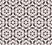 Διανυσματικό άνευ ραφής σχέδιο, μονοχρωματικό ομαλό τριγωνικό δικτυωτό πλέγμα Στοκ εικόνες με δικαίωμα ελεύθερης χρήσης