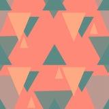 Διανυσματικό άνευ ραφής σχέδιο τριγώνων Στοκ εικόνα με δικαίωμα ελεύθερης χρήσης