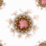 Διανυσματικό άνευ ραφής σχέδιο των λεπτών cupcakes Στοκ εικόνες με δικαίωμα ελεύθερης χρήσης