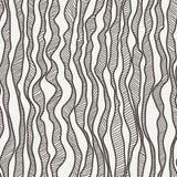 Διανυσματικό άνευ ραφής σχέδιο των καμπυλών που σύρονται με το χέρι Στοκ εικόνα με δικαίωμα ελεύθερης χρήσης