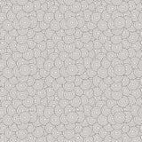 Διανυσματικό άνευ ραφής σχέδιο των ομόκεντρων κύκλων Στοκ Φωτογραφία