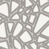 Διανυσματικό άνευ ραφής σχέδιο των hand-drawn γραμμών Στοκ φωτογραφία με δικαίωμα ελεύθερης χρήσης