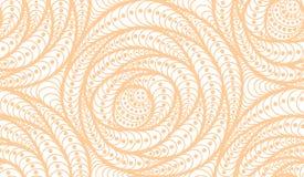 Διανυσματικό άνευ ραφής υπόβαθρο κυμάτων συρμένων των doodle γραμμών Στοκ εικόνες με δικαίωμα ελεύθερης χρήσης