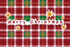 Διανυσματικό άνευ ραφής christan ταρτάν, σχέδιο ταρτάν, κάρτες Χριστουγέννων Στοκ φωτογραφίες με δικαίωμα ελεύθερης χρήσης