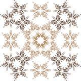 Διανυσματικό άνευ ραφής floral αφηρημένο υπόβαθρο Στοκ φωτογραφίες με δικαίωμα ελεύθερης χρήσης