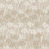 Διανυσματικό άνευ ραφής floral πρότυπο κομψότητας Στοκ φωτογραφία με δικαίωμα ελεύθερης χρήσης