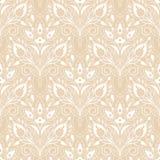 Διανυσματικό άνευ ραφής floral σχέδιο δαντελλών Στοκ εικόνες με δικαίωμα ελεύθερης χρήσης