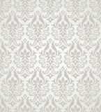 Διανυσματικό άνευ ραφής floral damask πρότυπο Στοκ Φωτογραφίες