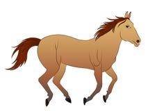 Διανυσματικό άλογο κινούμενων σχεδίων απεικόνισης Στοκ φωτογραφίες με δικαίωμα ελεύθερης χρήσης