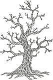 Διανυσματικό δέντρο της Apple Εποχή δέντρων Στοκ Εικόνες