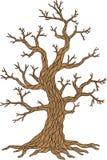 Διανυσματικό δέντρο της Apple Συλλογή δέντρων Εποχή δέντρων Στοκ Εικόνες