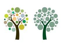 Διανυσματικό δέντρο Στοκ φωτογραφίες με δικαίωμα ελεύθερης χρήσης