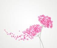 Εκλεκτής ποιότητας floral υπόβαθρο ελεύθερη απεικόνιση δικαιώματος