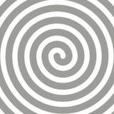 Διανυσματικό απλό γραπτό υπόβαθρο Σπείρα στο αναδρομικό λαϊκό ύφος τέχνης διανυσματική απεικόνιση