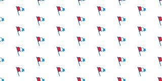 Διανυσματικό απομονωμένο ταπετσαρία υπόβαθρο Netherland σχεδίων σημαιών άνευ ραφής Στοκ εικόνα με δικαίωμα ελεύθερης χρήσης
