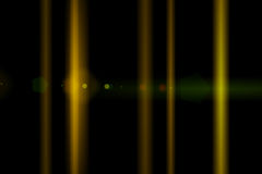Διανυσματικό αστέρι, ήλιος με τη φλόγα φακών Στοκ Φωτογραφίες