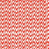 Διανυσματικό αφηρημένο άνευ ραφής σχέδιο με συρμένο το χέρι σιρίτι Κόκκινο Tj Στοκ Εικόνες