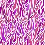 Διανυσματικό αφηρημένο άνευ ραφής σχέδιο με τα κυρτά σημεία Πτώσεις στο vio Στοκ Εικόνες