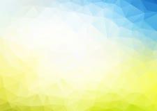 Διανυσματικό αφηρημένο μπλε κίτρινο υπόβαθρο διανυσματική απεικόνιση